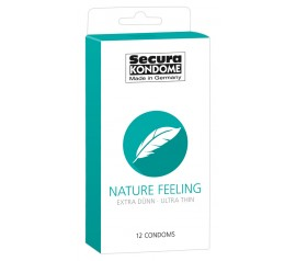 Kondoomid Secura Nature Feeling 12tk