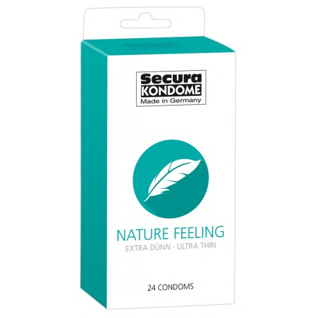 Kondoomid Secura Nature Feeling 24tk