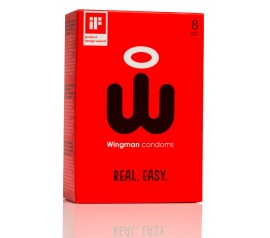 Wingman Condom 8pc