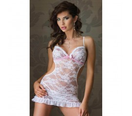 Lace dress Agnese white