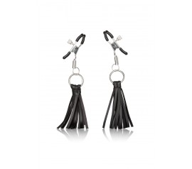 Playful Tassels Nipple Clamps black