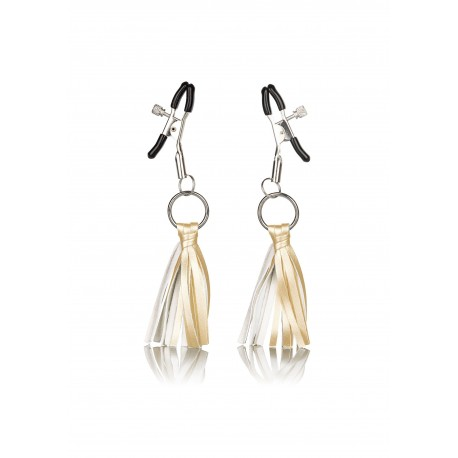Playful Tassels Nipple Clamps gold