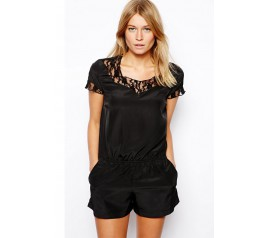 Pitsine playsuit, must M