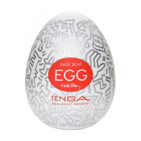 Masturbaator Tenga - egg Keith Haring Party