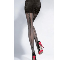 Sexy 40D Patterned Microfiber Tights