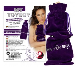 My Toy Boy Velvet Bag
