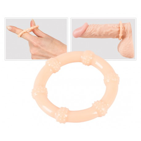 Skin-coloured Cock Ring